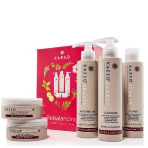 Kaeso Rebalancing bőrkiegyensúlyozó arcápoló szalon szett 5 db-os